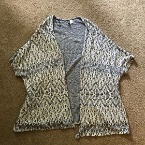 H&M Shawl Cardigan Size Medium